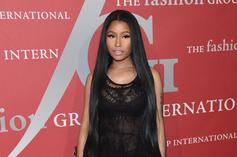 Nicki Minaj Is Trolling Fans With A Fake Pregnancy Photo