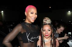 Tamar Braxton's Newly Shaved Head Goes The Way Of Pink