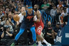 """Houston Rockets """"Strong Frontrunners"""" To Land Carmelo Anthony"""