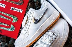 """Travis Scott x Nike Air Force 1 Low """"Sail"""" Releases Today: Purchase Links"""