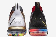 "Nike LeBron 16 ""What The LeBron"" Colorway Unveiled"