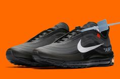 Off-White x Nike Air Max 97 Releasing In Black Colorway: Details