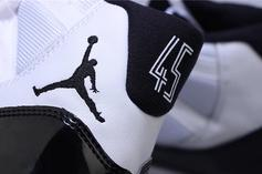 """Air Jordan 11 """"Concord"""" Returning With '45' On The Heel: New Images"""