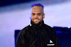 Chris Brown Gets To Work On Large New Torso Tattoos
