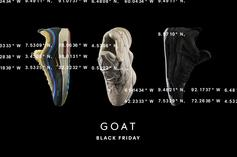GOAT App Announces Massive Black Friday Sneaker Giveaway