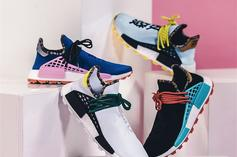 "Pharrell x Adidas NMD Hu ""Inspiration Pack"": Purchase Links"