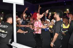 Trippie Redd Tries To Recreate Kanye West's Wild Camp Flog Gnaw Dance Moves