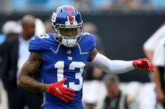 """Odell Beckham Jr. Goes """"Sneaker Shopping"""" At Nike's New NYC Flagship"""