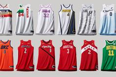 """Nike Reveals NBA """"Earned Edition"""" Jerseys For Last Year's Playoff Teams"""