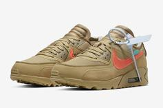 """Off-White x Nike Air Max 90 """"Desert Ore"""" Coming Soon: Official Images"""