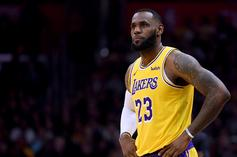 """LeBron James Hit With """"Kobe's Better"""" Chants During Hawks Game"""