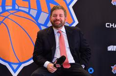 """Knicks Fan Kicked Out Of Game After Telling James Dolan """"Sell The Team!"""""""