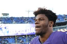 Lamar Jackson Apologizes For Recording Himself Driving 105 MPH: Video