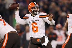 """Baker Mayfield Says He'll """"Love"""" Playing With OBJ And Jarvis Landry"""