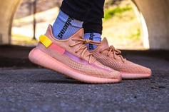 "Adidas YEEZY BOOST 350 V2 ""Clay"" On-Foot Images"