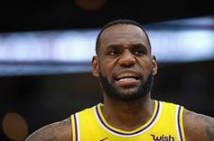 """LeBron James """"Made Raspberry Sound"""" When Asked Of Lakers' Roster Construction"""