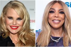 Christie Brinkley Offers Wendy Williams Divorce Lawyer Advice During Studio Visit