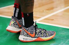 Kyrie Irving Debuts Kobe-Inspired Nike Kyrie 5 For Game 2 In Boston