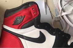 "Satin ""Black Toe"" Air Jordan 1 Retro High OG Set To Drop This Summer"