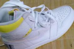 Air Jordan 1 High OG Colorway With Yellow Barcodes Revealed