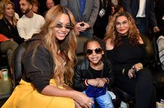 Blu Ivy Is Still Out Here Joking Around With Grandma Tina Knowles