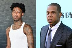 """21 Savage Declares Jay-Z The Undisputed """"GOAT"""""""