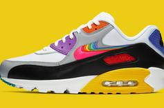 """Nike Air Max 90 """"Be True"""" To Drop This Saturday: Official Photos"""
