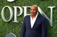 Mike Tyson & Wack 100 Throw Punches In Heated Fight Reenactment