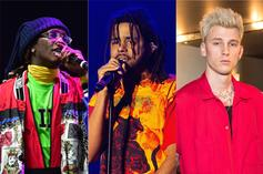 """Young Thug, J. Cole, MGK & More Among Spotify's """"Song Of The Summer"""" Predictions"""