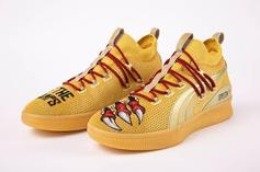 "PUMA Gifts Raptors Danny Green ""We The Champs"" Clyde Court Sneakers"