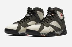 """Patta X Air Jordan 7 """"Icicle"""" Coming Soon, Official Images Unveiled"""