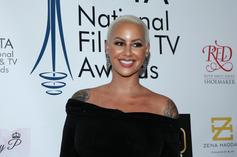 Amber Rose Pens Sweet Note To  Ex Wiz Khalifa & Boyfriend A.E. On Father's Day