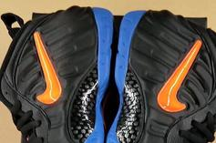 """Nike Air Foamposite Pro """"Knicks"""" Coming This Summer: First Look"""