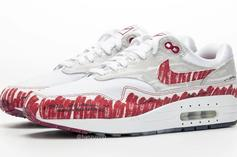 "Nike Air Max 1 ""Tinker Sketch"" Turns The Classic Shoe Into A Drawing"