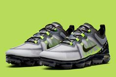 "Nike Vapormax 2019 Channels The Air Max 95 With ""Neon"" Colorway"