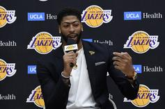 Anthony Davis Says He Found Out About His Trade To Lakers Via Instagram