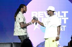 Diddy Blesses 2 Chainz With New Ciroc At Friday The 13th Themed Birthday Party