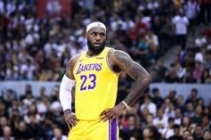 LeBron James Speaks Out On Behalf Of NBA Players Following China Debacle