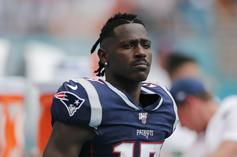 Antonio Brown Gets Inspirational While Awaiting An NFL Contract