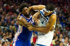 Joel Embiid, Karl-Anthony Towns Suspensions Announced Following Brawl