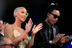 Wiz Khalifa & Amber Rose Bring Their New Partners To Watch Son's Baseball Game
