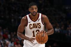 Tristan Thompson Receives Rambunctious Ice Bath After Career-High