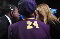 Spike Lee Honored Kobe Bryant With Purple & Gold Suit At Oscars