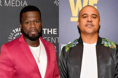 "50 Cent Threatens Irv Gotti: ""You Sucker Ass N***a"""