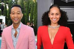 "John Legend Imagines ""Verzuz"" Battle With Alicia Keys: ""I Think We Will""Joh n"