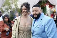 """DJ Khaled Says He """"Lost His Mind"""" When Rihanna Complimented His Suit"""