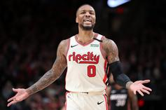 Damian Lillard Explains What It's Like Practicing Amid COVID-19 Fears