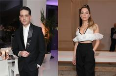 G-Eazy Accompanies Ashley Benson To Her Sister's Wedding As Her Date