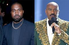 Kanye West & Steve Harvey Dine With Chick-Fil-A Owners