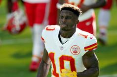 Tyreek Hill Claims Randy Moss Is Better Than Jerry Rice